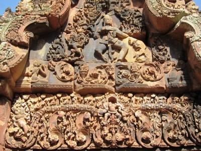 Cambodia Banteay Srei 27