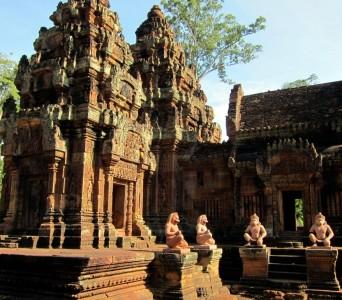 Cambodia Banteay Srei 31