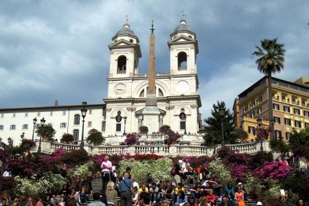 Italy part 1, Piazza di Spagna and Spanish Steps 1