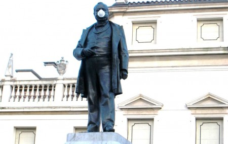Italy, part 2, Cavour in a mask -1