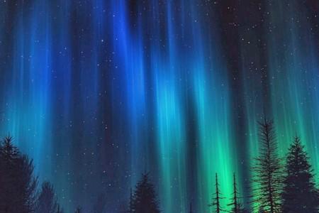 Iceland, Aurora Borealis 1