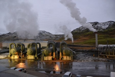 Iceland, Power station