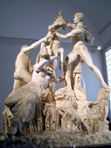 Naples, Archeological museum, Toro Farnese 2