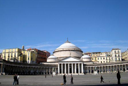 Naples, Piazza del Plebiscito 3
