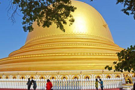 Kaungmudaw pagoda Sagaing 6