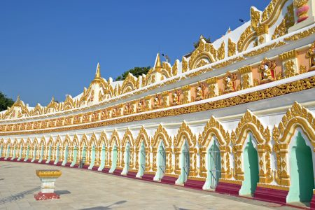 U Min Thonze Caves Temple, Sagaing 1