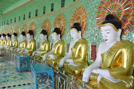 U Min Thonze Caves Temple, Sagaing 15-1